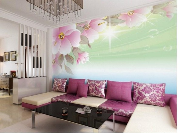 Wall Design Images For Drawing Room