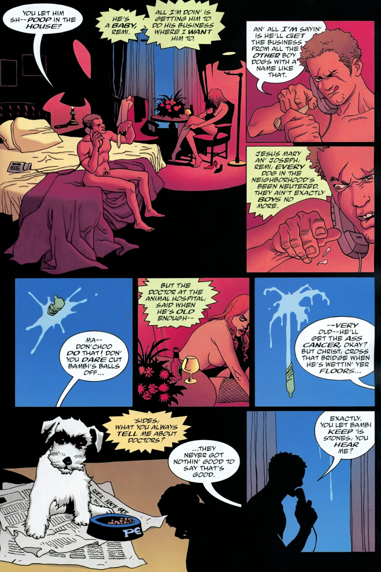 Read online 100 Bullets comic -  Issue #90 - 4