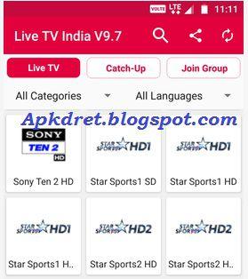 Live TV India V10 v14.0 apk