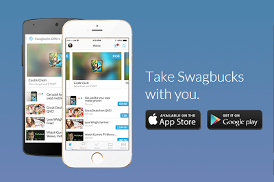 Swagbucks mobile app for Android and iPhones