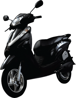 Wheels of future Lohia Auto's ecofriendly and economic bike for the women on move -black