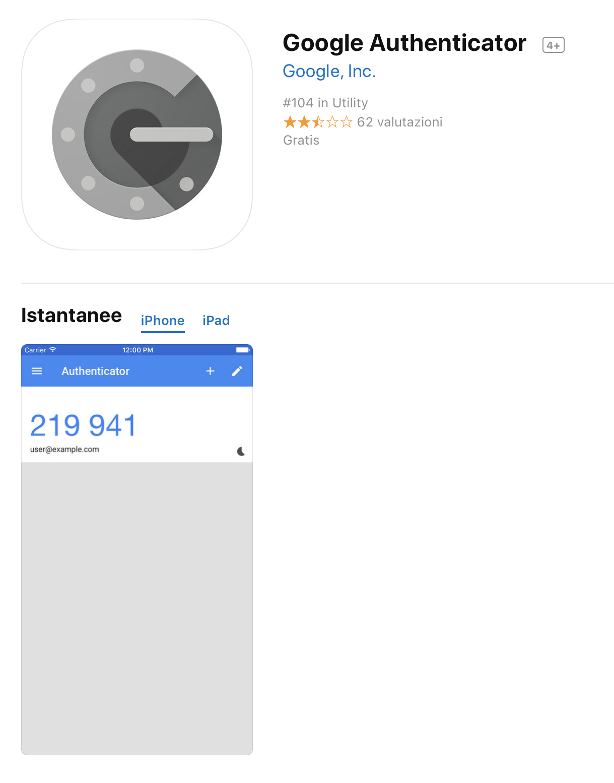 Cos'è e a cosa serve Google Authenticator