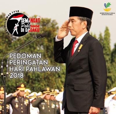 Download Pedoman Peringatan Hari Pahlawan ke-73 Tahun 2018