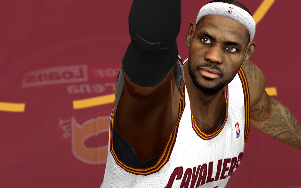 LeBron James Cavs NBA2K