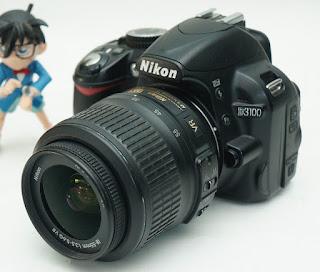 DSLR Bekas Nikon D3100