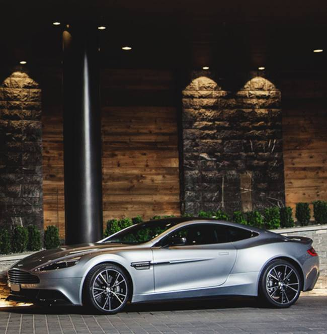 New Aston Martin Car