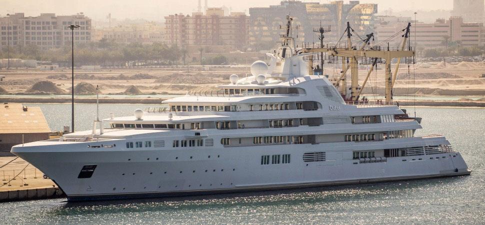 Самая дорогая яхта в мире 2019