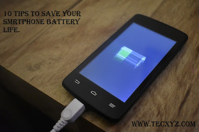 10 points to better your smartphone battery life
