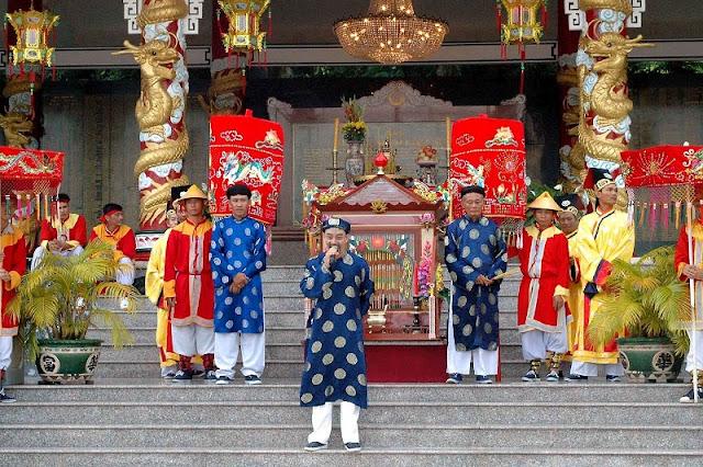 Ba Chua Xu festival in Chau Doc, An Giang 2
