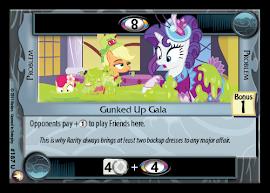 My Little Pony Gunked Up Gala Equestrian Odysseys CCG Card