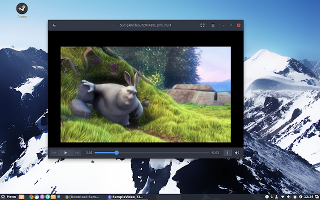 GNOME Videos aka Totem Movie Player