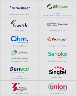 Open Electricity Market (OEM) Retailers in Singapore Personal Portfolio