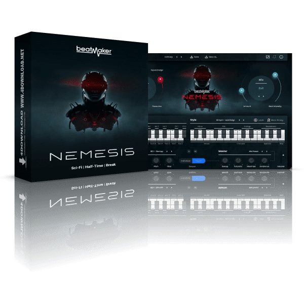 UJAM Beatmaker NEMESIS v2.1.2 Full version