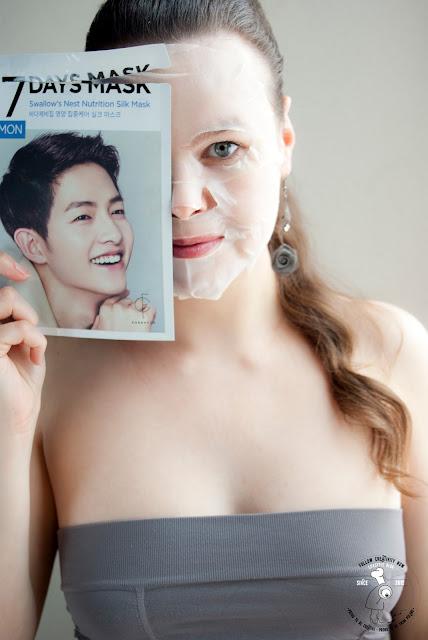 maseczka na płacie, k-beauty sheet mask