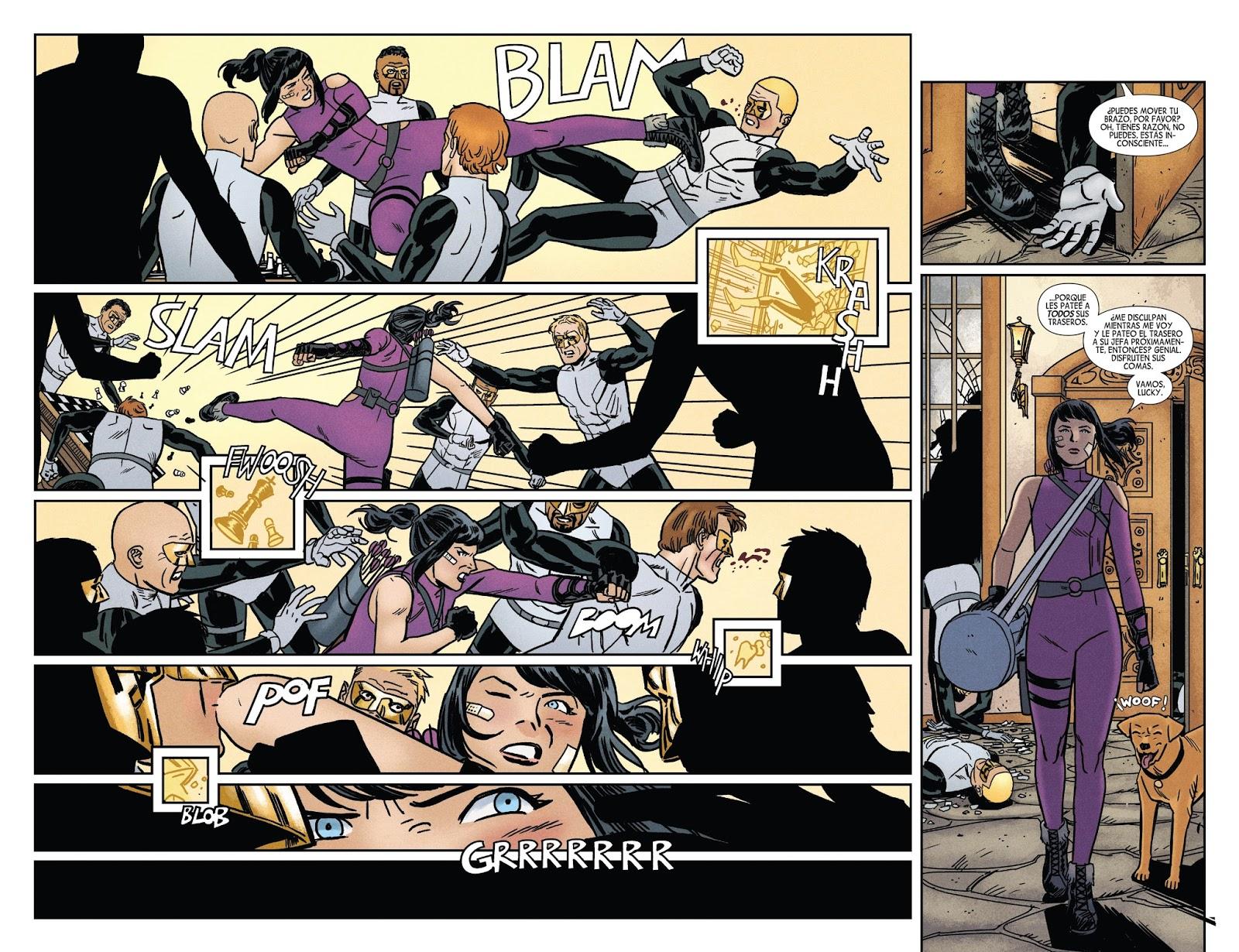 Galicia Comic: Hawkeye 11