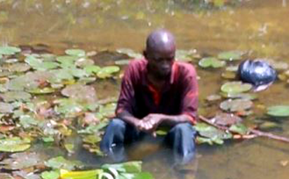 Man Found In Sapele River Says He Crashed 'Flying' From Benin To UK (Photo)