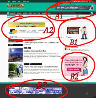 pasang banner murah meriah tabloidku com