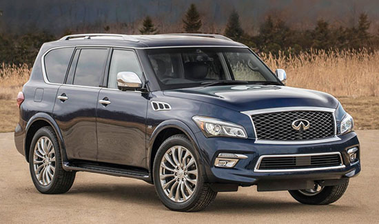 And Of Course Our Own Infiniti Qx80 Which Is Just A Luxury Version The Patrol