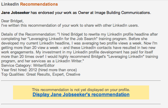 Resume Writers\u0027 Digest Helping Clients With How to Write LinkedIn - get resume from linkedin