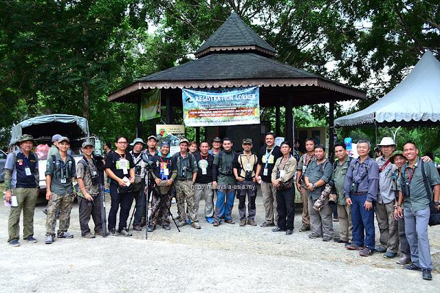 Birders from Sabah