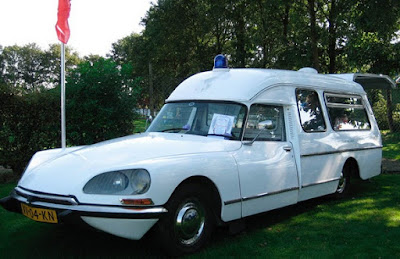 Citroen DS Currus Classic Ambulance