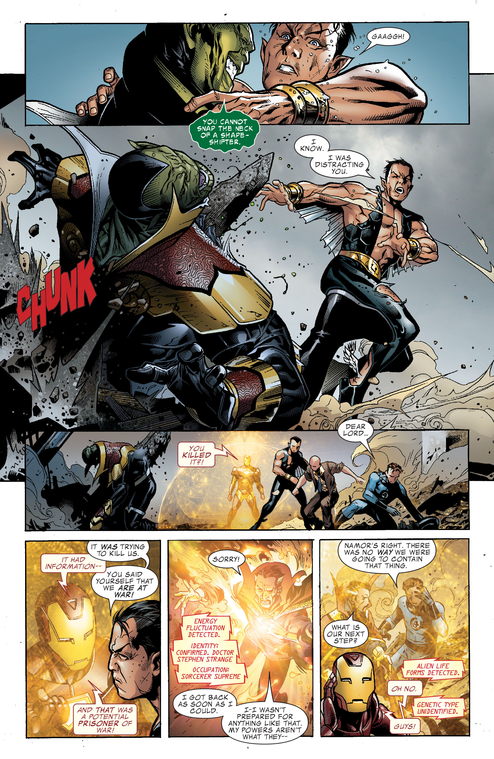 Read online Secret Invasion: The Infiltration comic -  Issue #2 - 15