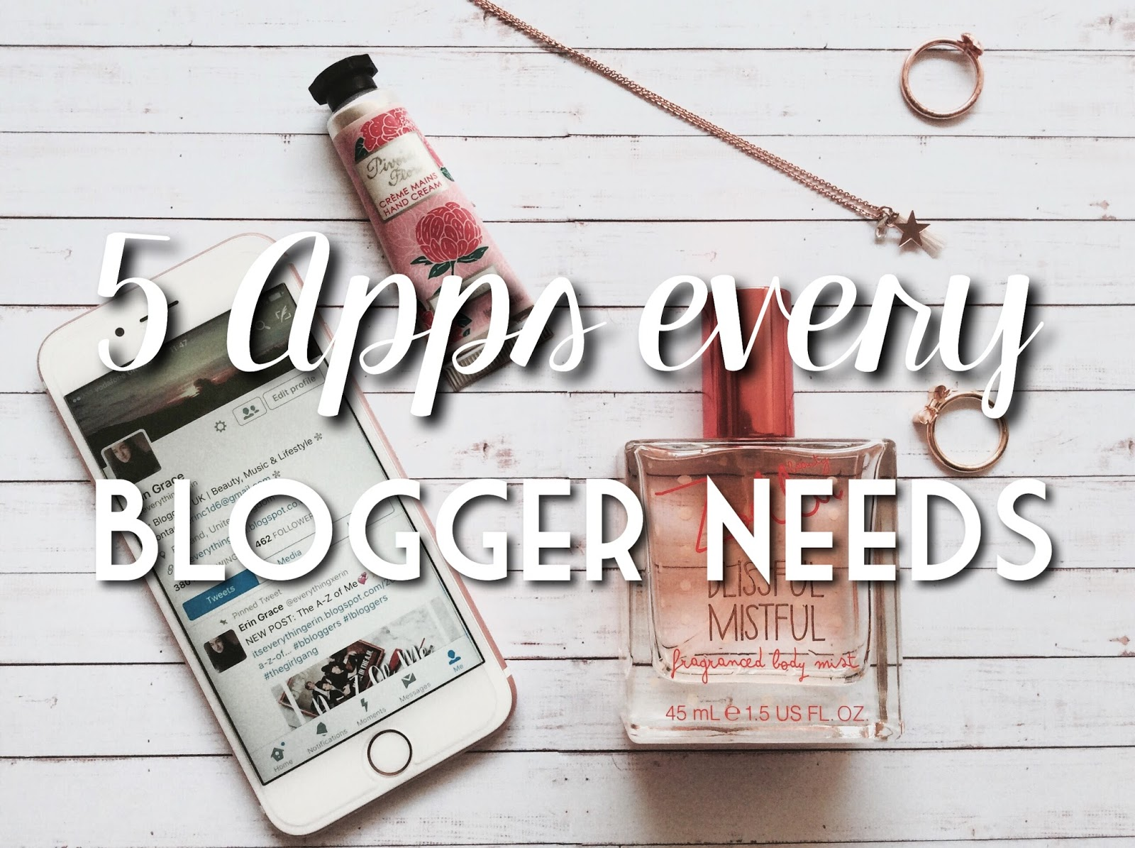 5 Apps Every Blogger Needs