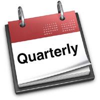 quarterly calender