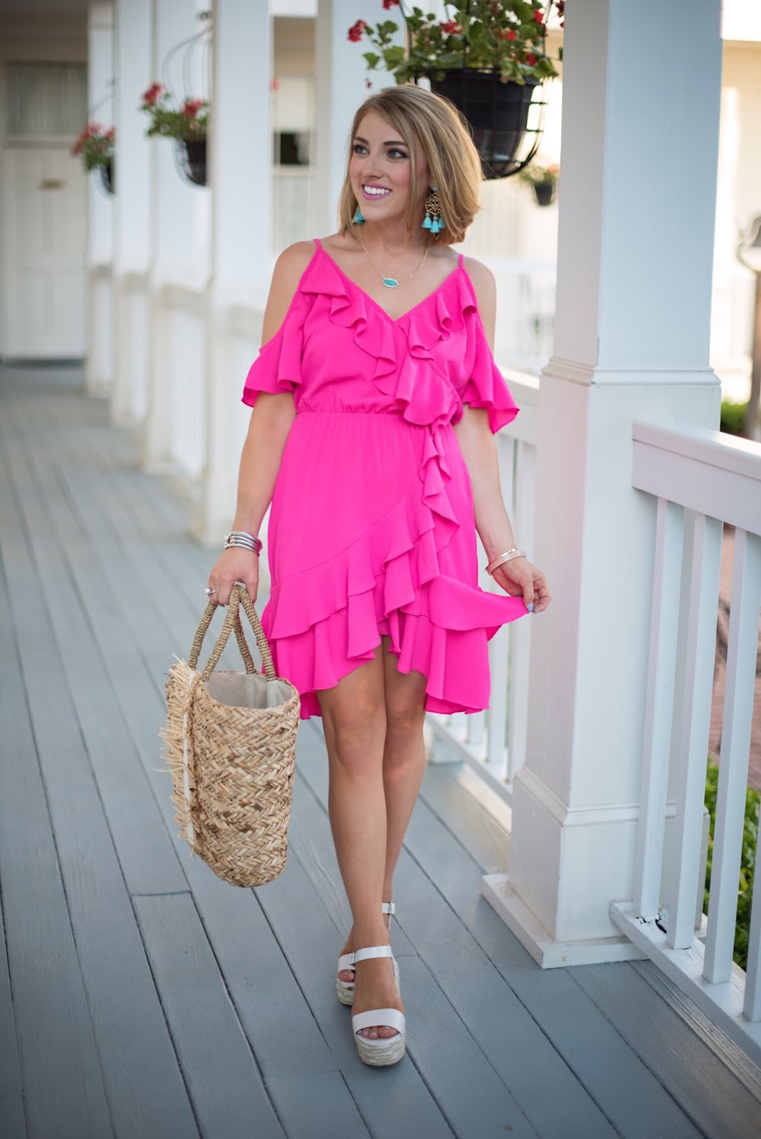 $32 Pink Dress - Click through to see more on Something Delightful Blog.