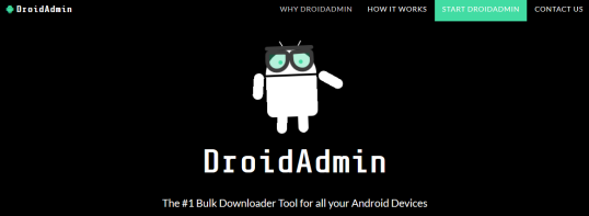 Install DroidAdmin APK on android box or Firestick - Create your own Play Store with unique code.