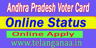 Andhra Pradesh AP New Voter Id Card Application Online Apply