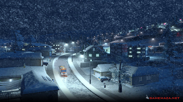 Cities Skylines Snowfall Gameplay Screenshot 2