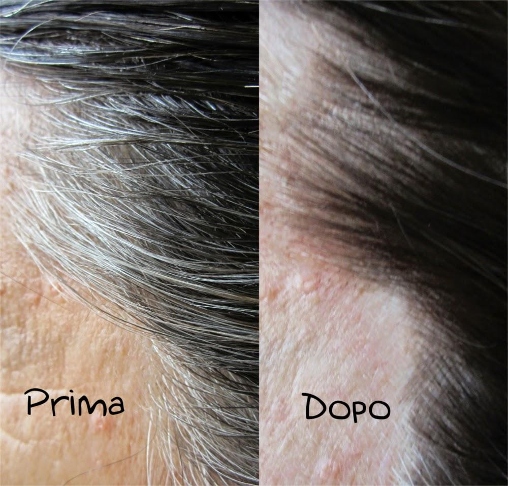 differenza prima e dopo tinta l'oreal