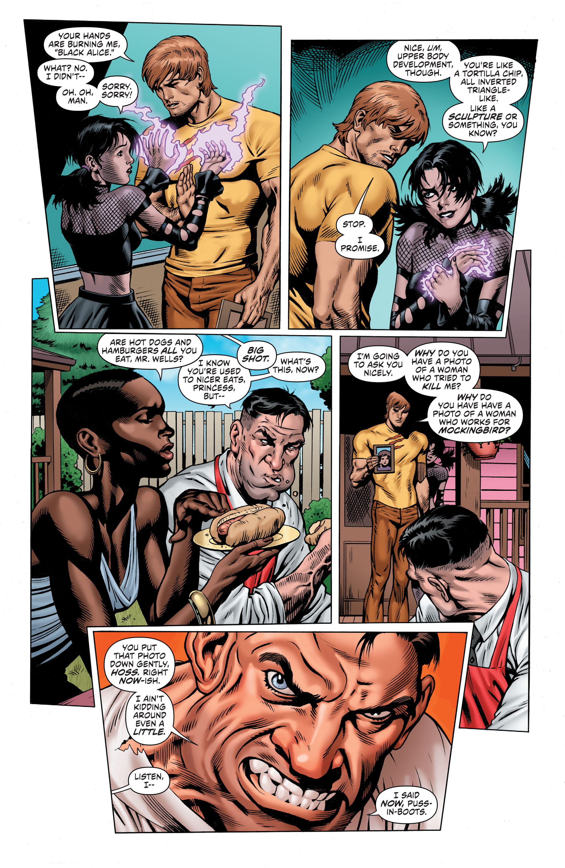 Read online Secret Six (2015) comic -  Issue #5 - 9