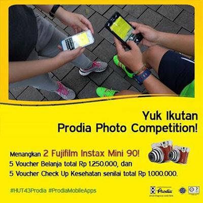 HUT 43 Prodia Photo Competition