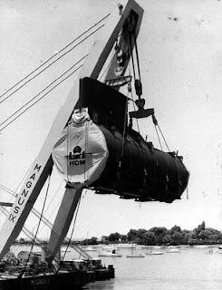 """Sección del Submarino """"San Luis"""""""