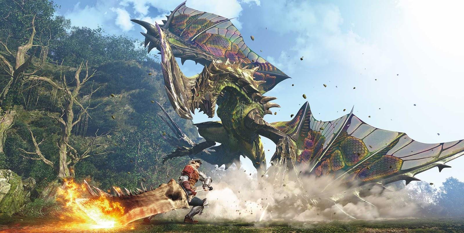 Se comenta Monster Hunter 5 para Nintendo Switch en 2018
