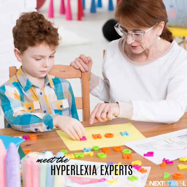 Meet two well known experts on hyperlexia