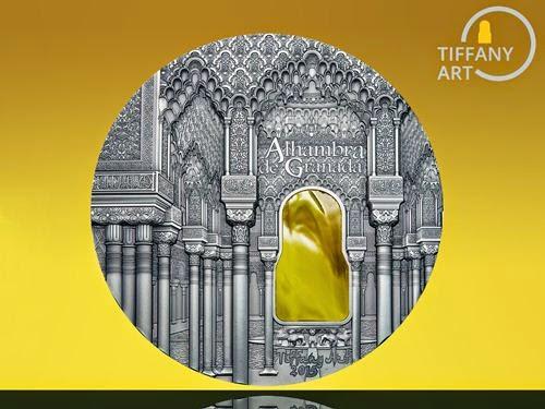 Tiffany Art Alhambra Granada 1kg Silver Coin | Silver Coins News