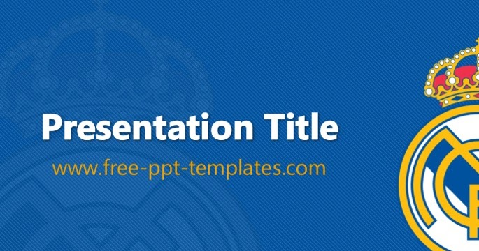 Real Madrid PPT Template