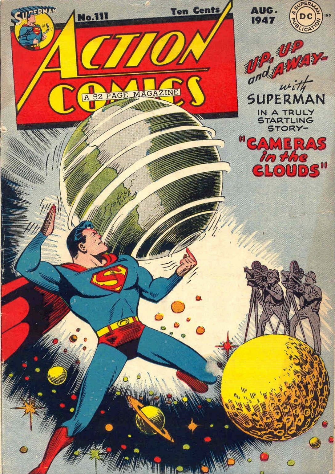 Read online Action Comics (1938) comic -  Issue #111 - 1