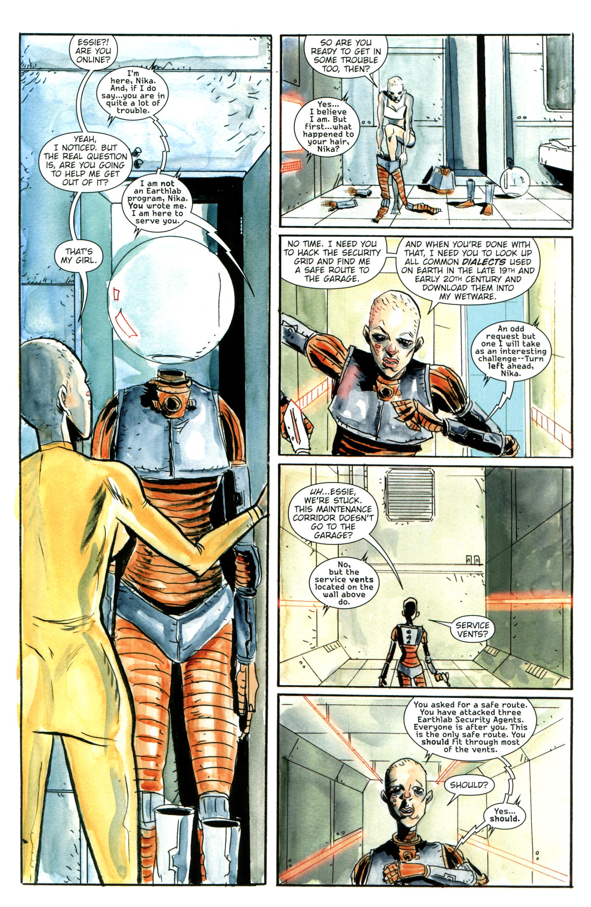 Read online Trillium comic -  Issue #3 - 11