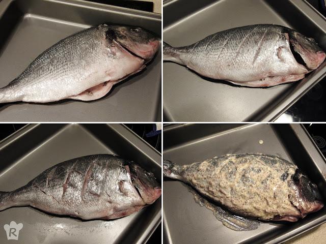 Receta de dorada a la egipcia: preparación del pescado