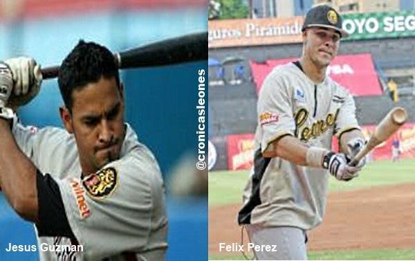 Jesus Guzman y Felix Perez trabajan duro en su ofensiva para recuperarse ...