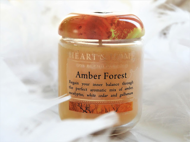 avis Amber Forest (Forêt d'Ambre) de Heart & Home, blog bougie, candle review, candle blog, avis bougie heart and home, bougie parfumee
