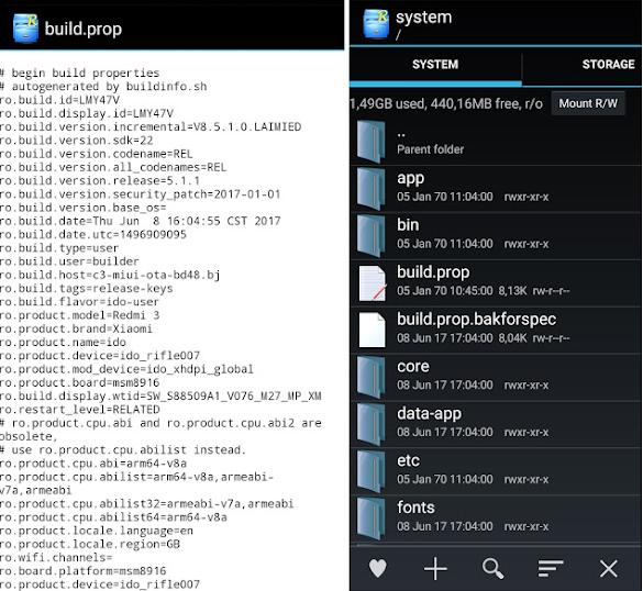 Kumpulan Script Build.Prop Android Smartphone