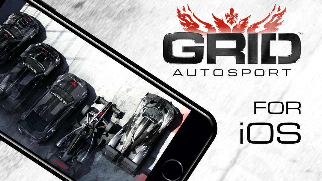 Console-Quality Racing Comes to iOS with GRID Autosport