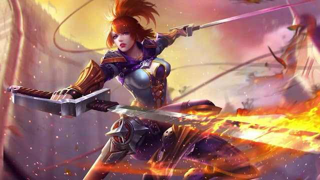 Ini dia Gear Hero Fanny yang dipakai Oleh player top global mobile legends