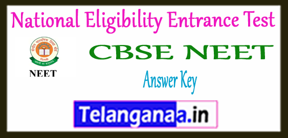 NEET National Eligibility Entrance Test Exam Answer Key 2018 Result