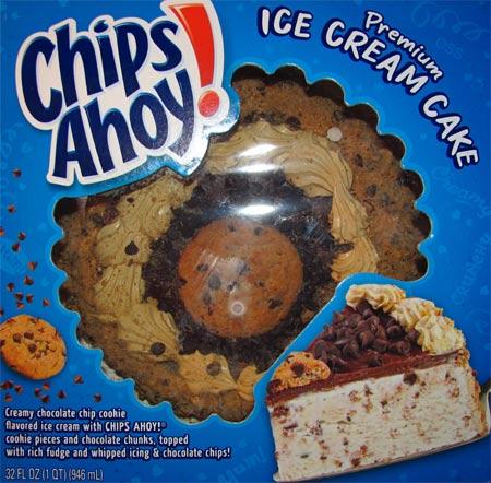 On Second Scoop: Ice Cream Reviews: Chips Ahoy! Ice Cream Cake